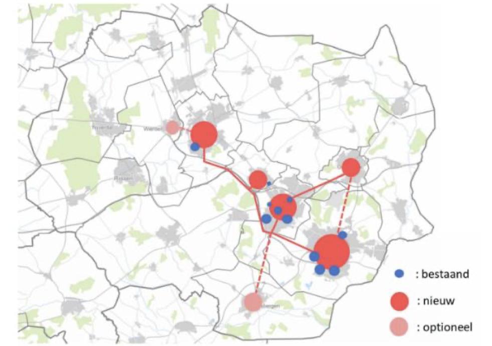 Gemeenten verkennen regionaal warmtenet in Twente