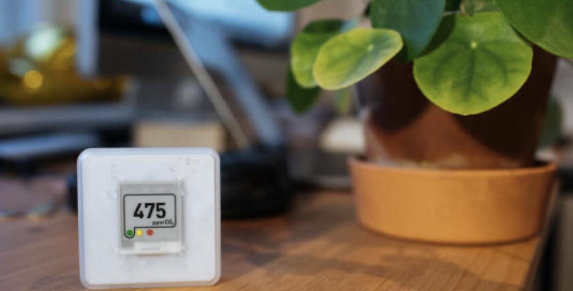 Energiebespaartip - Meet de luchtkwaliteit met een CO2-meter