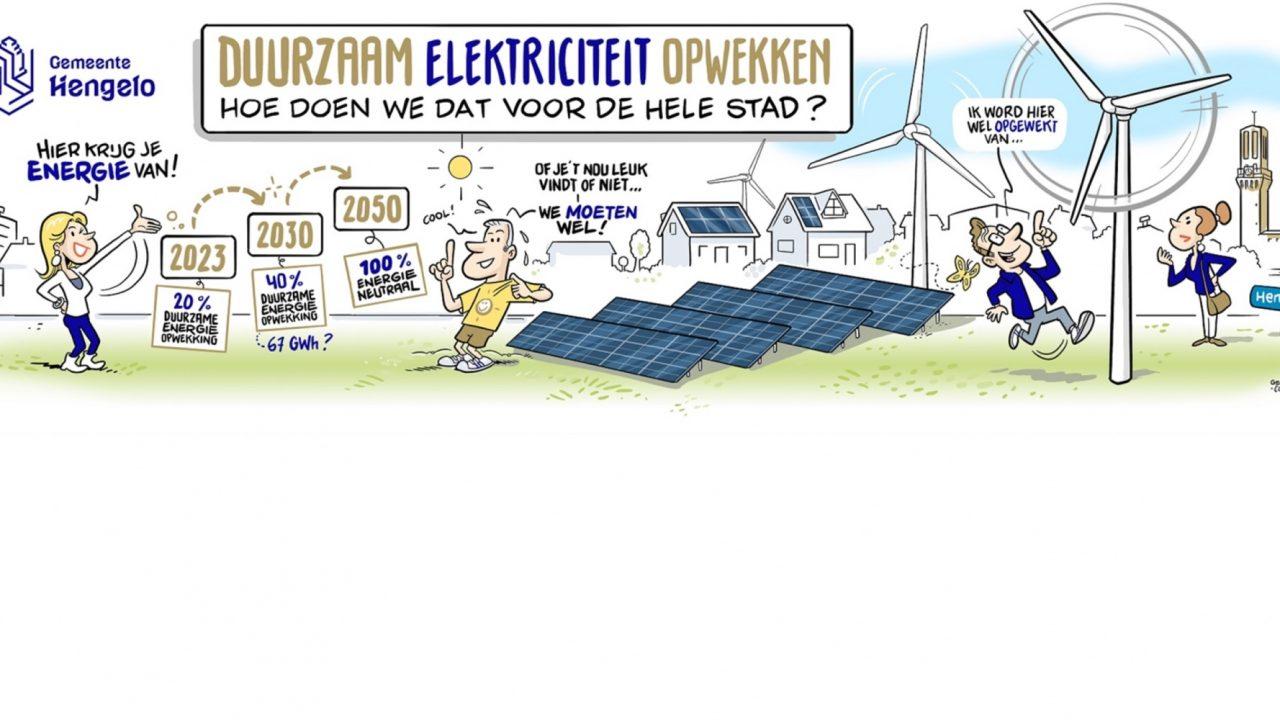 Update: Bijeenkomsten zonne- en windenergie gemeente Hengelo