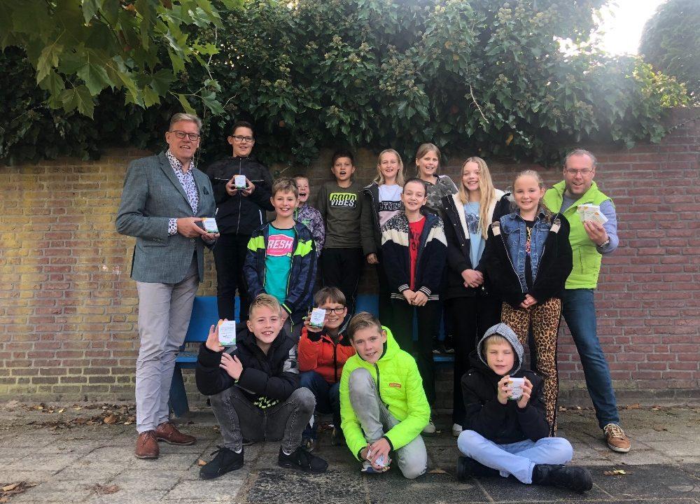 Duurzaamheidskwartet voor schoolkinderen