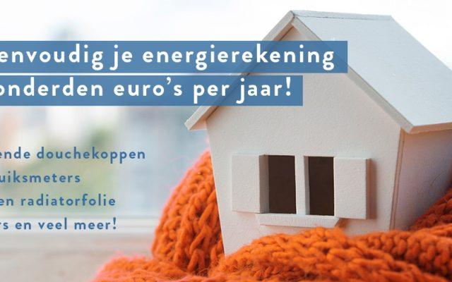 Gratis producten t.w.v. €40,- bij Energiebespaarshop